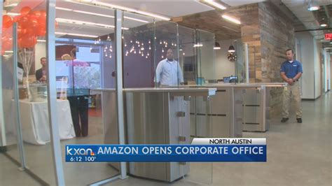 Amazon Opens New Corporate Office In Austin Youtube