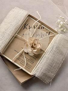 Custom listing 100 eco chic invitation eco recycling for Rustic wedding invitations in a box