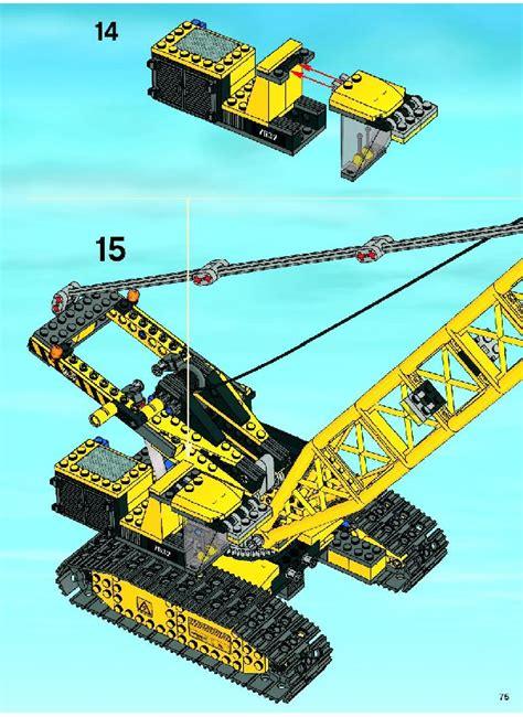 Lego Crawler Crane Instructions 7632, City