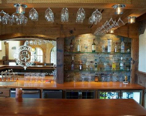 Bar Decor by Eclectic Basement Design Home Sweet Home Bars For Home