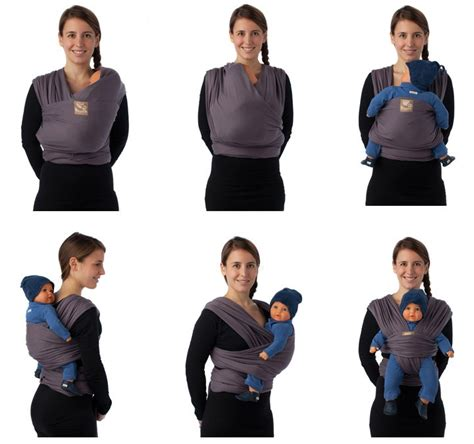 siege auto bebe confort porte bébé écharpe tricot slen de babylonia