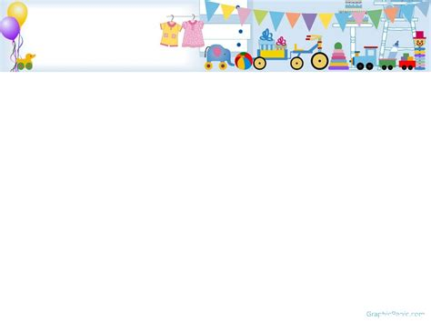 Baby Kids Template by Baby Powerpoint Template Graphicpanic