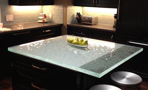 glass top kitchen island glass countertops chicago installation age
