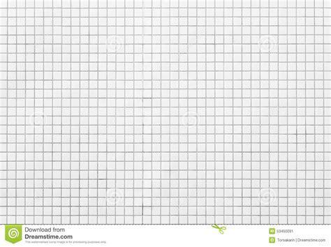 White Mosaic Tiles Stock Photo   Image: 53450091