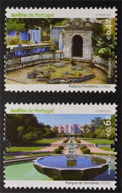 Botanischer Garten Coimbra by Portugal 2014 Michel Nr 3944 51 Parks U G 228 Rten In