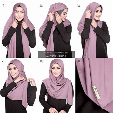 tutorial hijab onm   hijab tutorial hijab style