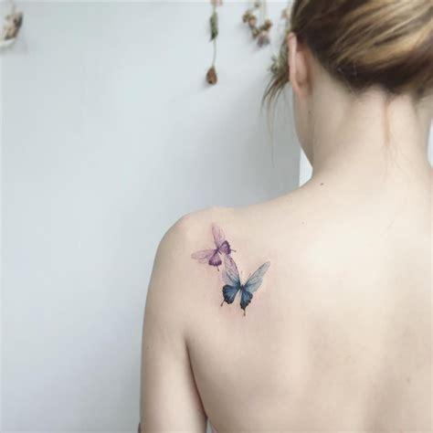 Signification Emplacement Tatouage Tatouage Papillon Femme Signification D 233 Clinaisons Et Emplacements