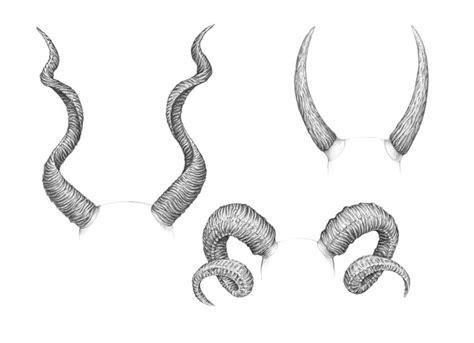 draw horns