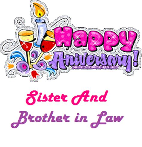 happy anniversary  sister brother  law  images