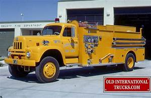 Old International Photos From The L R S  U0026 V Fire Trucks