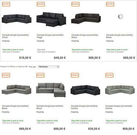 acheter un canapé pas cher où acheter un canapé d angle convertible pas cher sur le web