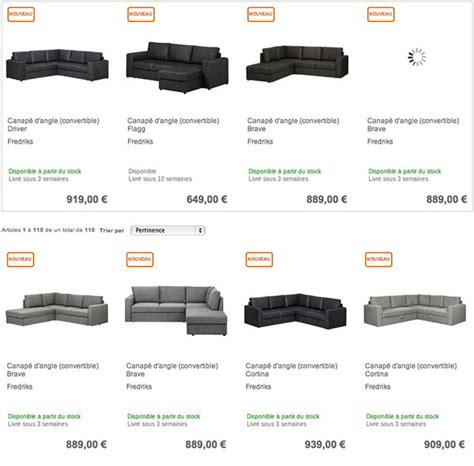 acheter canapé convertible pas cher où acheter un canapé d angle convertible pas cher sur le web