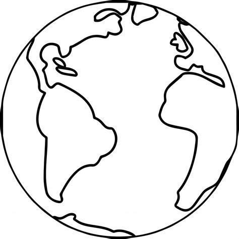 earth globe world coloring page wecoloringpagecom