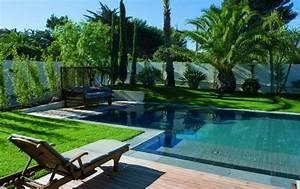 decoration jardin autour piscine With attractive jardin autour d une piscine 3 piscine