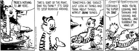 Calvin And Hobbes Quotes On Life. Quotesgram