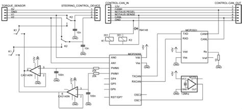 Jaguar Motor Controller Wiring by Circuit To Interface Electric Power Steering