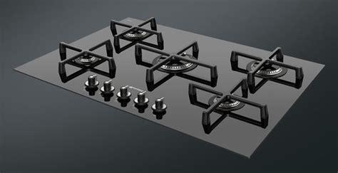 piano cottura moderno piano cottura 5 fuochi componenti cucina