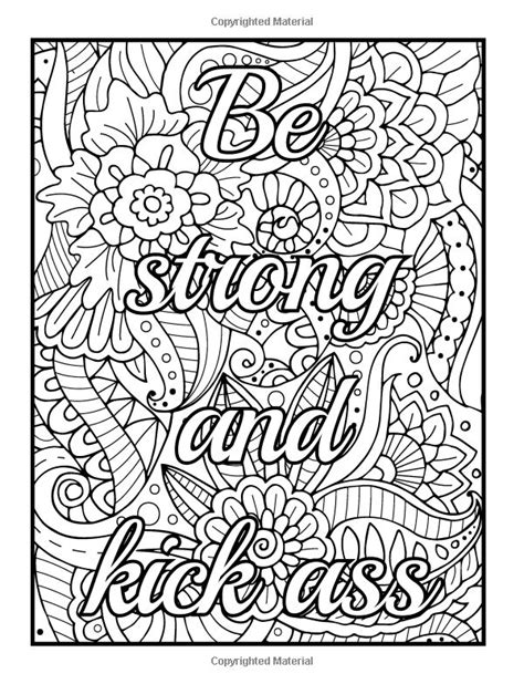 amazoncom  fcking awesome  color  adult coloring book  motivational swear word