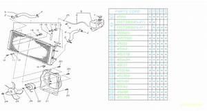 Subaru Loyale Spacer-radiator  Engine  Cooling