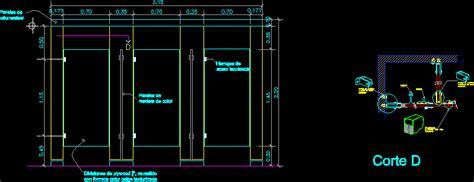 restroom partitions dwg detail  autocad designs cad