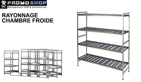 rayonnage modulaire chambre froide pour le stockage