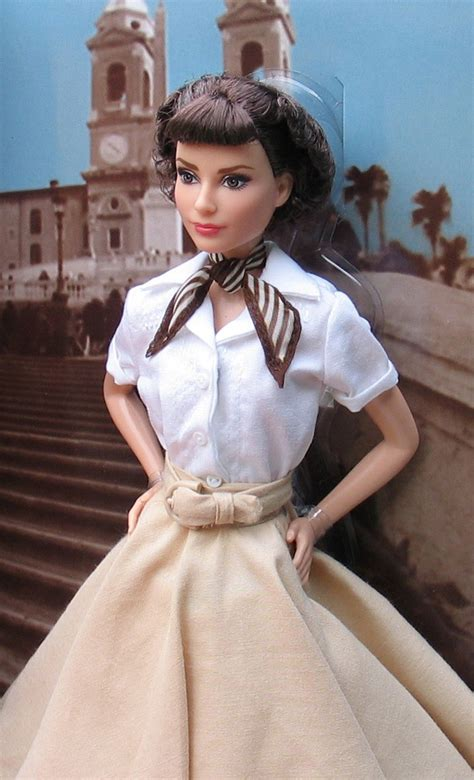 barbie collector  audrey hepburn  roman holiday