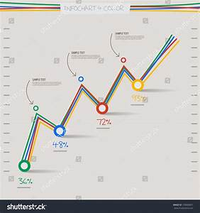 Infographic Arrow Diagram Graph Chart 4 Stock Vector 159666851