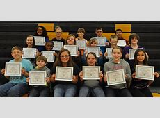 Fulton 58 FMS Students of the Month