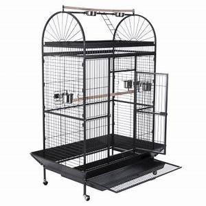 Cage A Perroquet : caesar cage pour perroquet zooplus ~ Teatrodelosmanantiales.com Idées de Décoration