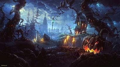 Halloween 4k Fear Haunted Pumpkin