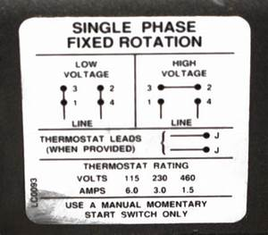 Hello  Ive Got A Baldor 1hp  Single Phase  110 Or 208