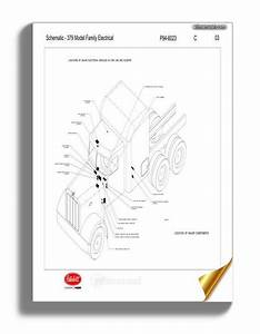 Peterbilt Pb379 Family Electrical Schematic  P94 6023