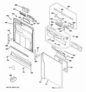 Ge Profile Dishwasher Parts Diagram
