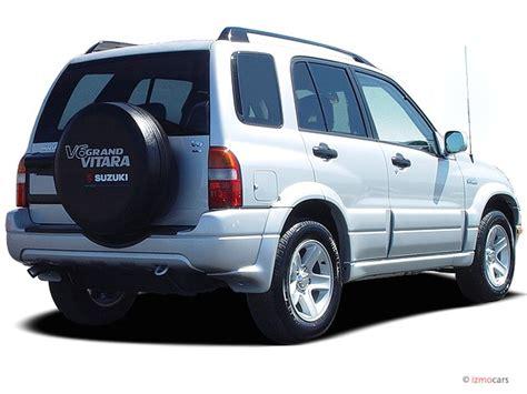 2003 suzuki grand vitara 4 door manual 4wd angular rear exterior view