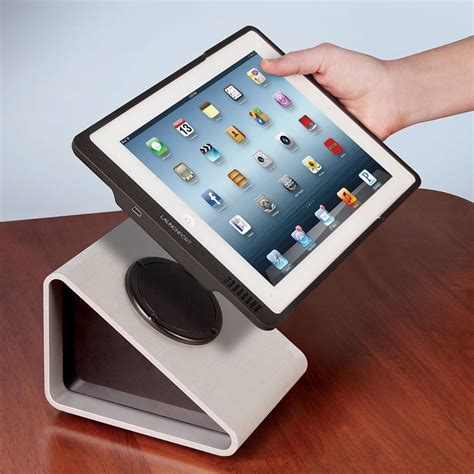 Kitchen Gadget Gift Ideas - inductive wireless ipad charger gadgetify com
