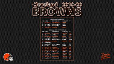 cleveland browns wallpaper schedule
