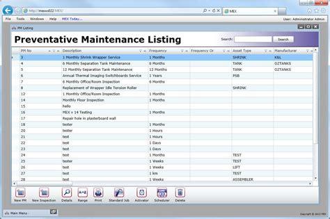 vehicle preventive maintenance template excel httpwww