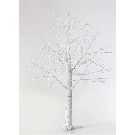 artificial bare trees martha stewart living 6 ft pre lit led snowy white artificial tree 9773300410 the