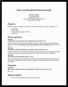 first resume sle for a highschool student high student resume no experience