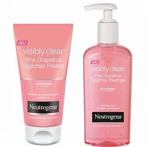 Neutrogena Visibly Clear Waschgel : neutrogena visibly clear pink grapefruit pflegelinie pinkmelon ~ Avissmed.com Haus und Dekorationen