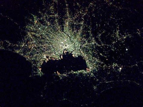 Cities At Night Seen From Space 21 Pics