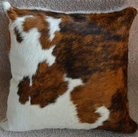Cowhide Throw by Pergamino Tricolor Cowhide Throw Pillow Reviews Wayfair