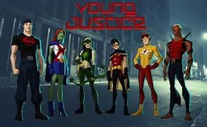 Young Justice - The Team - Young Justice Fan Art (32430981 ...