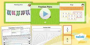 Planit Maths Y3 Fractions Lesson Pack Recognise And Show Equivalent Fractions