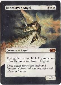 MTG Altered Art: Baneslayer Angel by LXu777 on DeviantArt