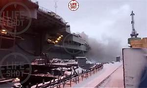 Flipboard: Russia's only aircraft carrier catches fire