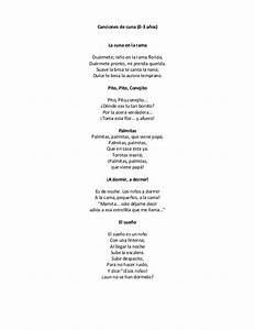 Canciones de cuna (0 a 3 años)