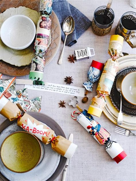 how to make christmas cracker hats how to make crackers oliver features