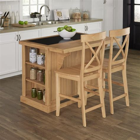 kitchen islands seating home styles nantucket maple kitchen island with seating
