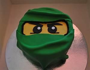 The Green Ninja- Lego Ninjago Cake - CakeCentral com